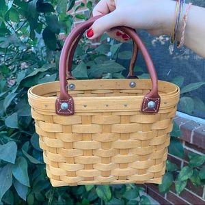 Longaberger Small Boardwalk Basket